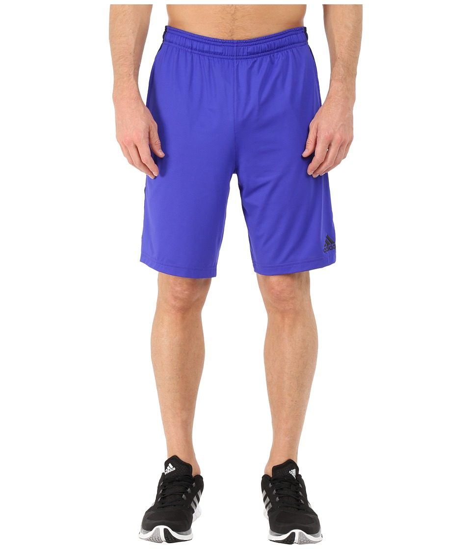adidas - TI 3s Solid Shorts (Night Flash/Night Flash/Collegiate Heather) Men