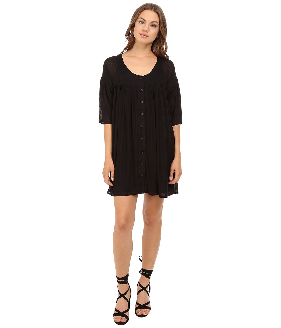 Volcom - Shutterbug Dress (Black) Women's Dress