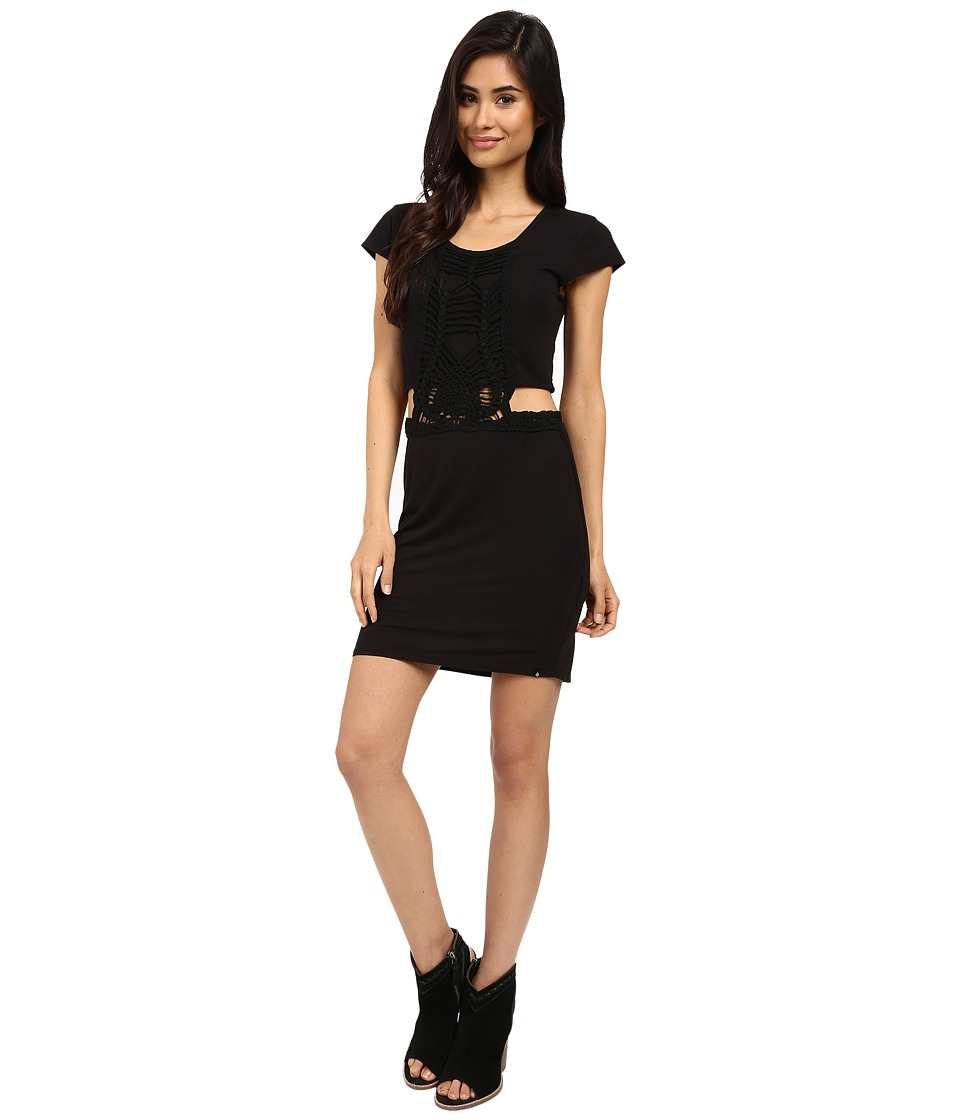 Volcom Suga Glider Dress (Black) Women