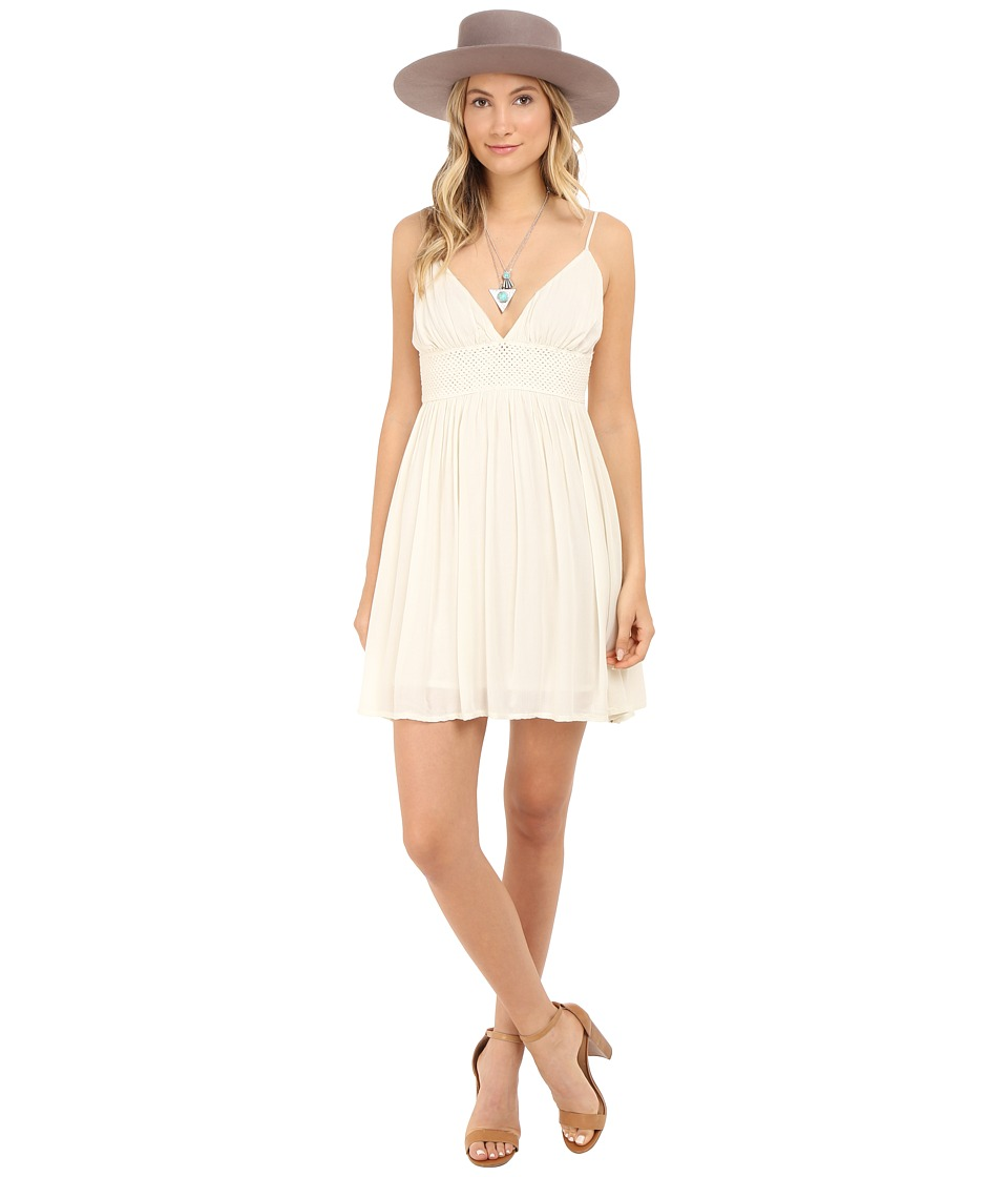 Volcom - Summer Salt Dress (Bone) Women's Dress