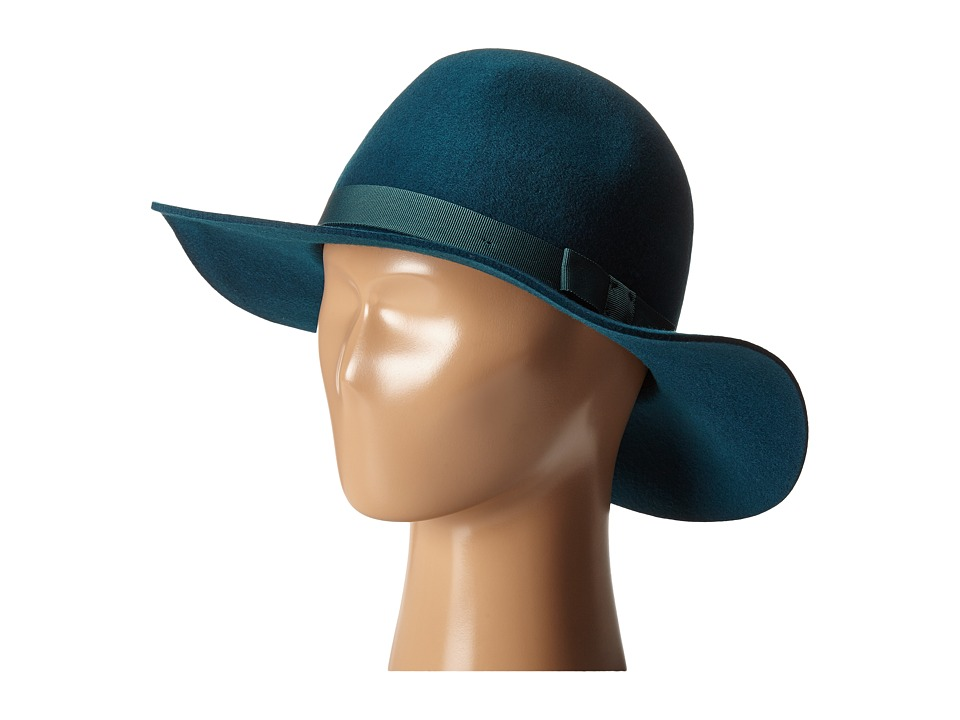 Brixton - Dalila Hat (Teal) Traditional Hats