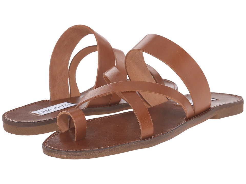 Steve Madden - Ambler (Tan Leather) Women's Sandals