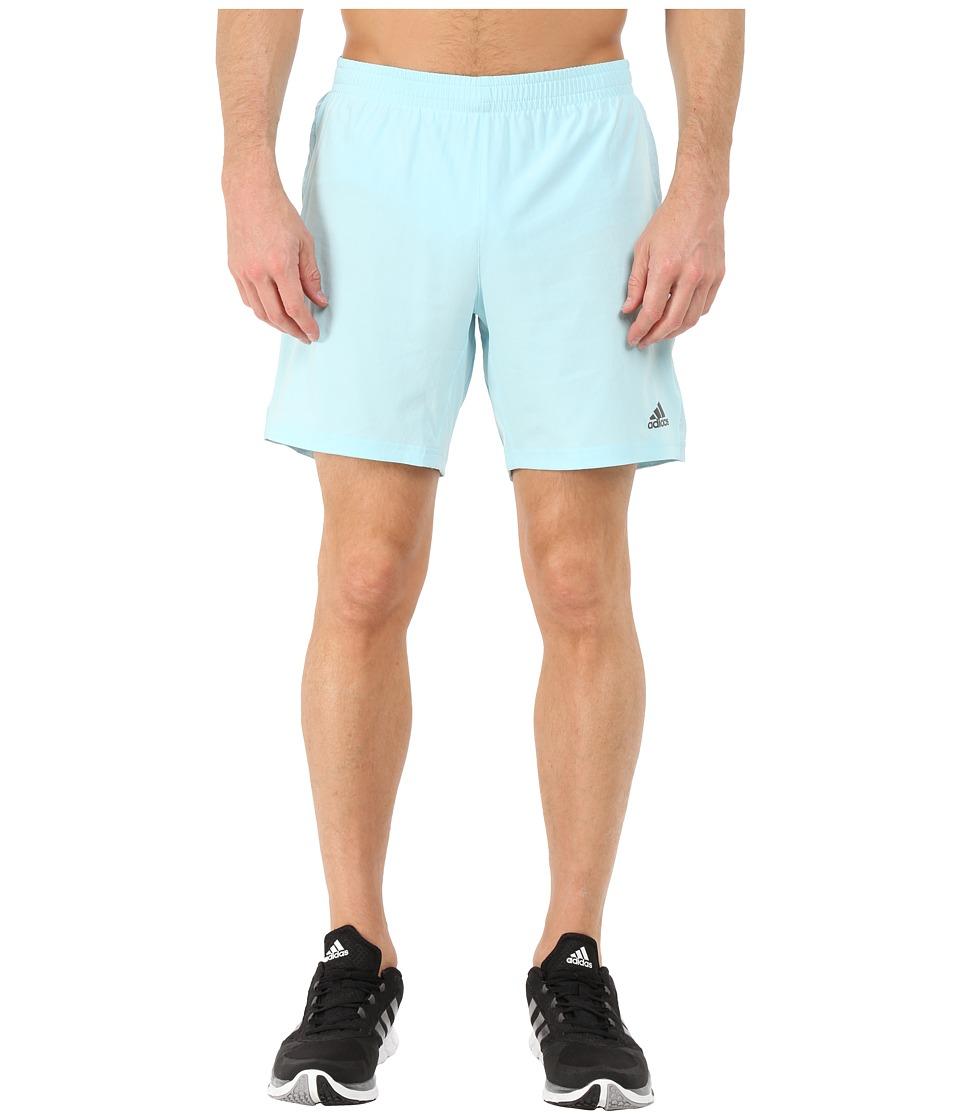 adidas - Supernova 7 Shorts (Frost Blue) Men