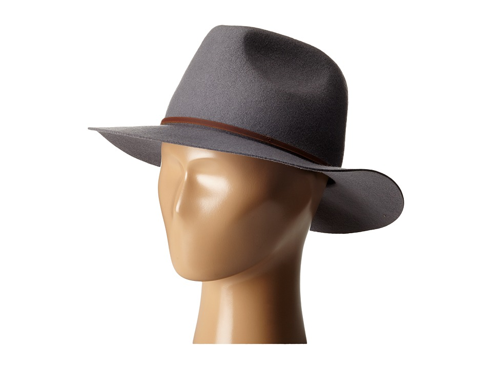 Brixton - Wesley Fedora (Light Grey) Traditional Hats