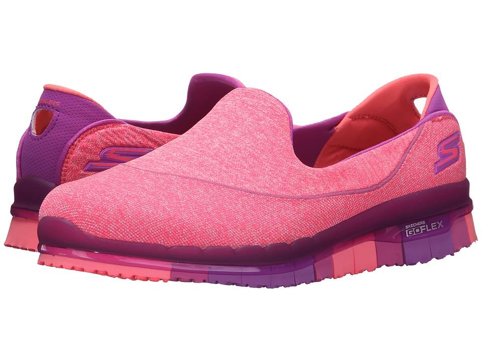 SKECHERS Performance - Go Flex - Stride (Purple) Women's Shoes