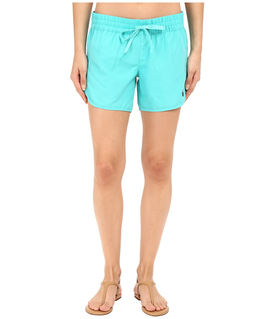Hurley - Supersuede Solid 5 Beachrider Boardshorts (Hyper Jade) Women's Swimwear