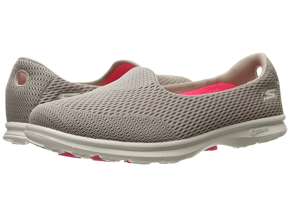 SKECHERS Performance - Go Step - Shift (Taupe) Women's Shoes