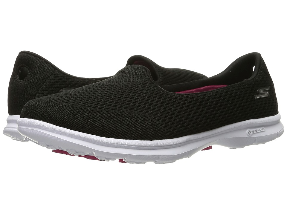 SKECHERS Performance - Go Step - Shift (Black/White) Women's Shoes