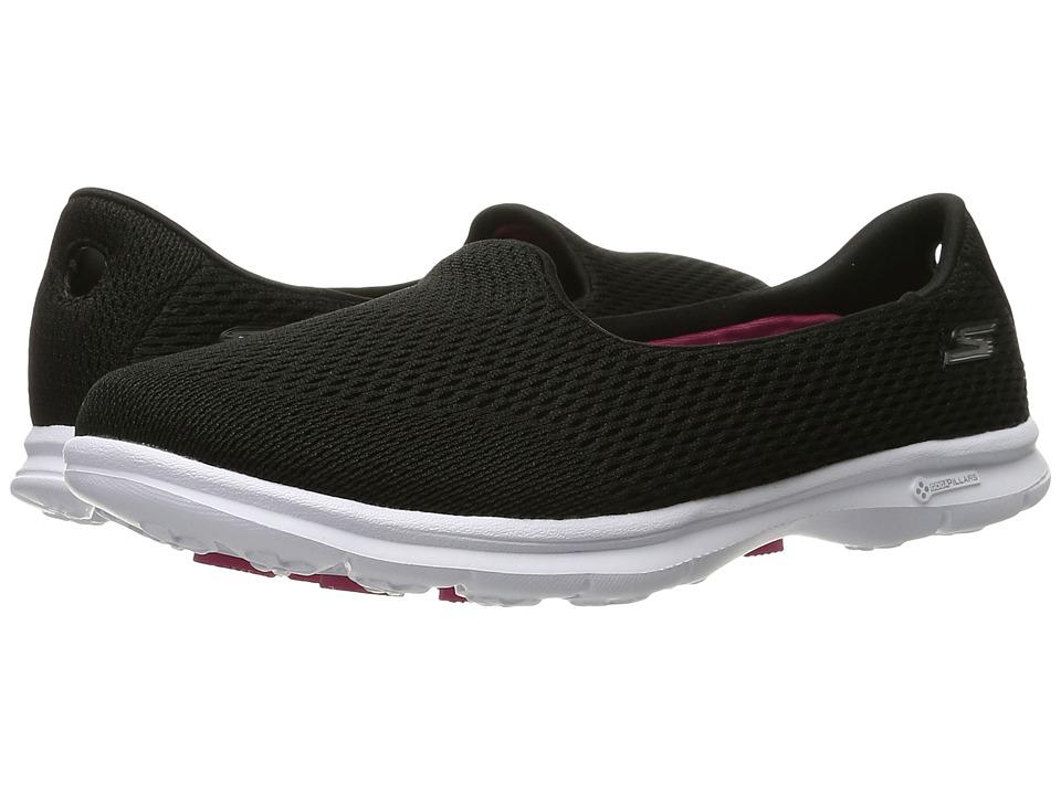 SKECHERS Performance - Go Step - Shift (Black/White) Women's Shoes