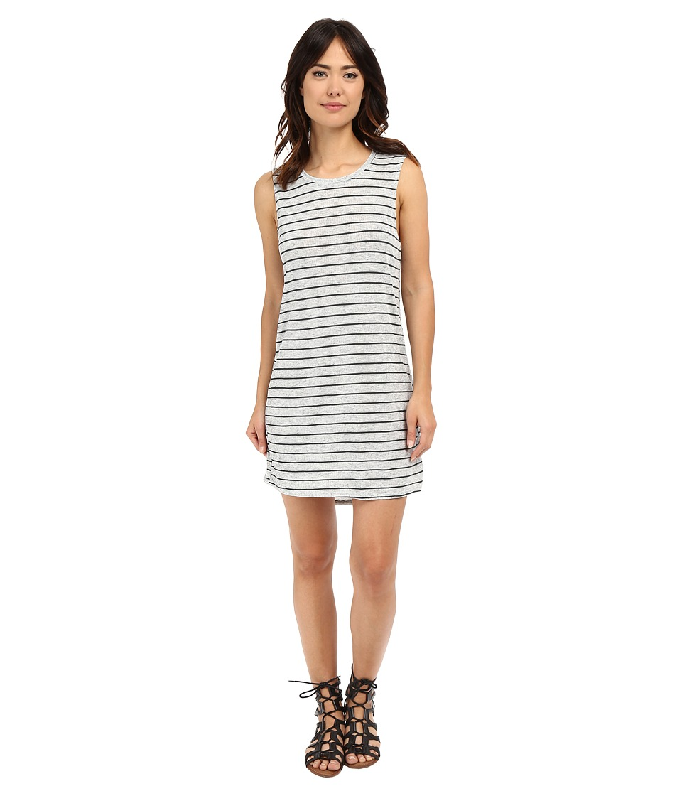 Volcom Lived in Rib Dress (Heather Grey) Women