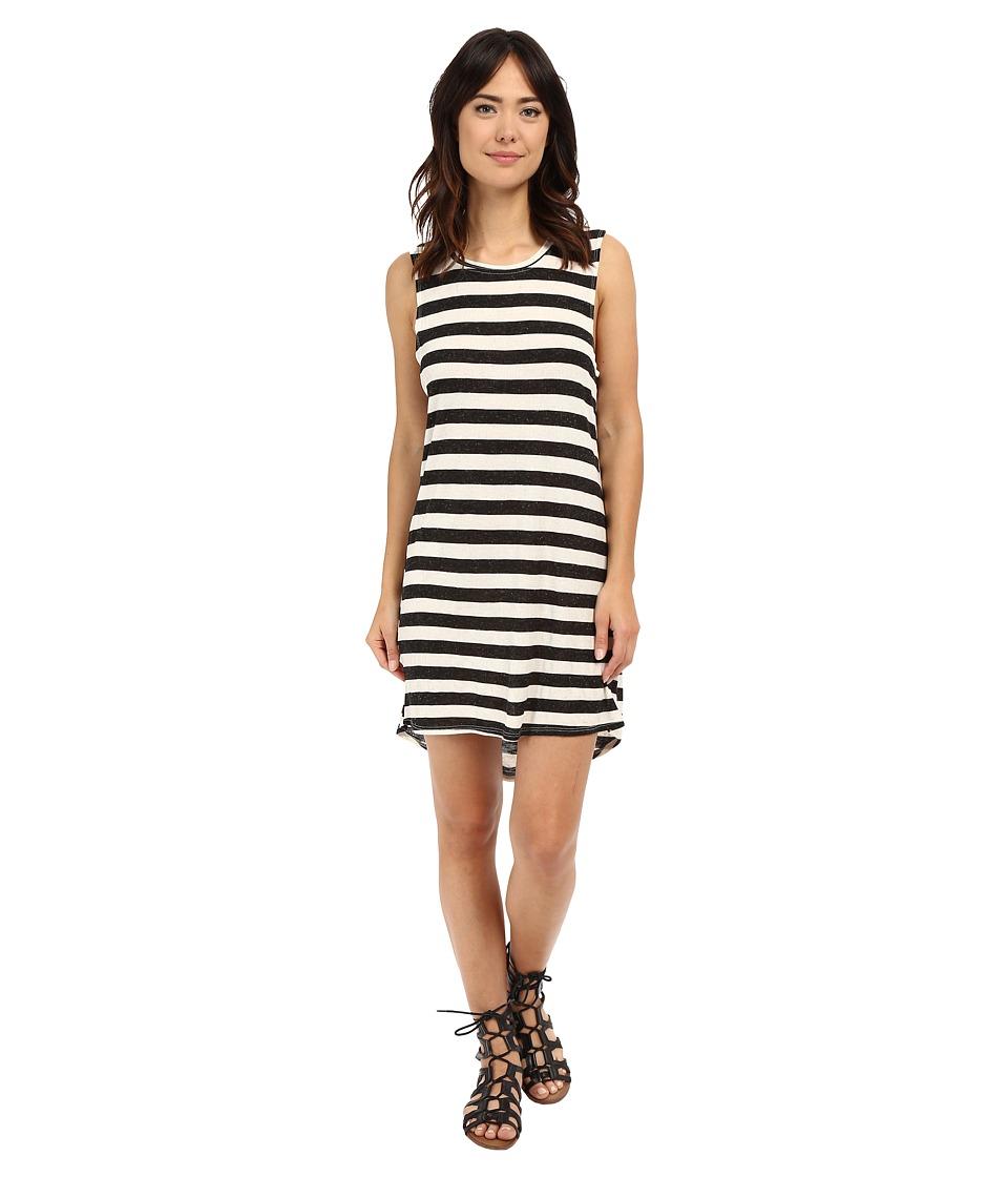 Volcom - Lived in Rib Dress (Black) Women's Dress