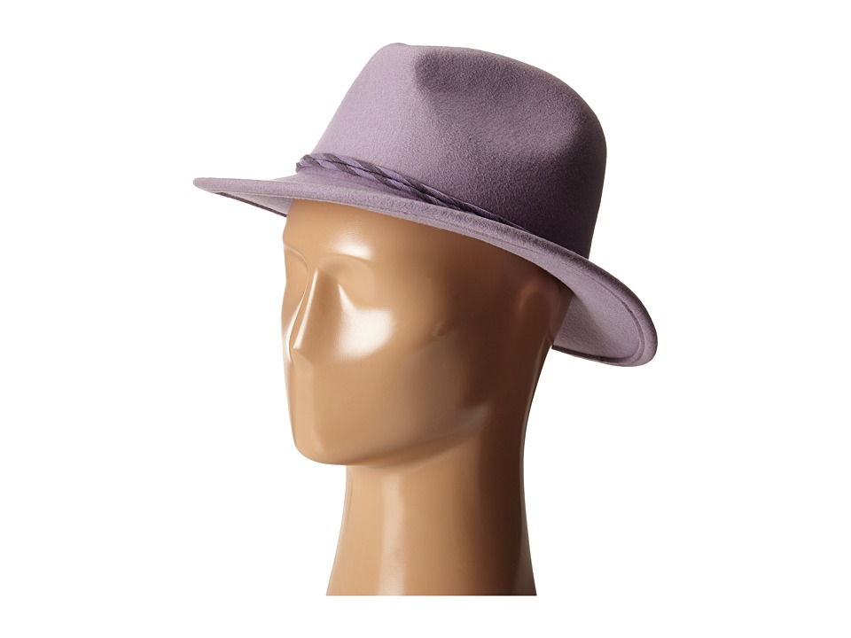 Brixton - Corbet Fedora (Lavender) Fedora Hats