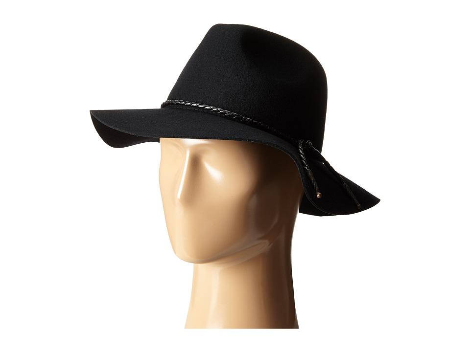 Brixton - Tucson Fedora (Black) Fedora Hats
