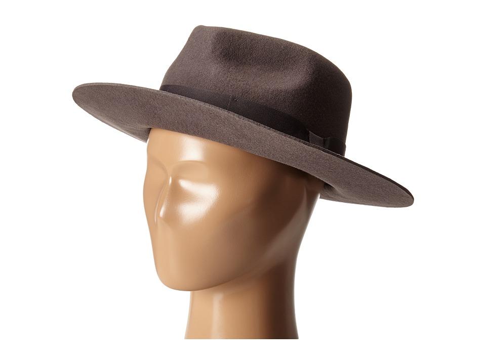Brixton - Swanson Fedora (Grey) Fedora Hats