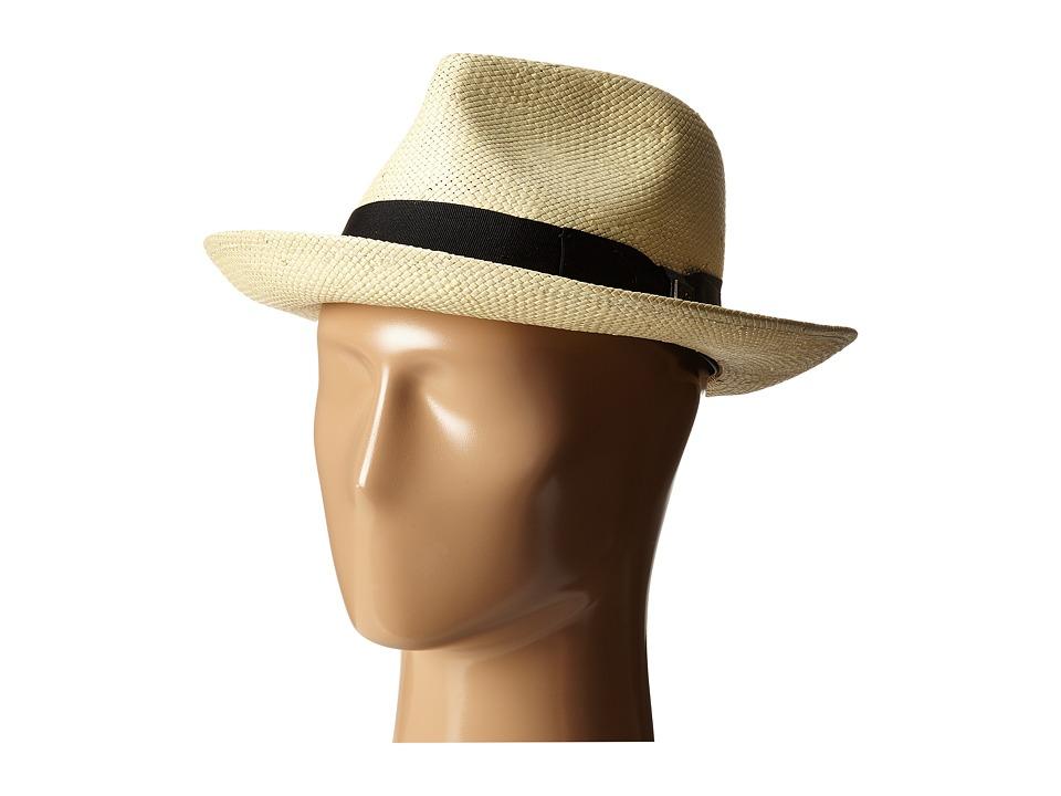 Brixton - Presley Fedora (Bone/Black) Fedora Hats