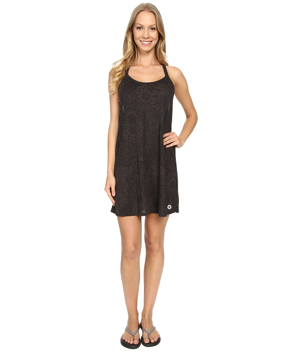 Hurley Dri-FIT T-Back Dress (Black) Women