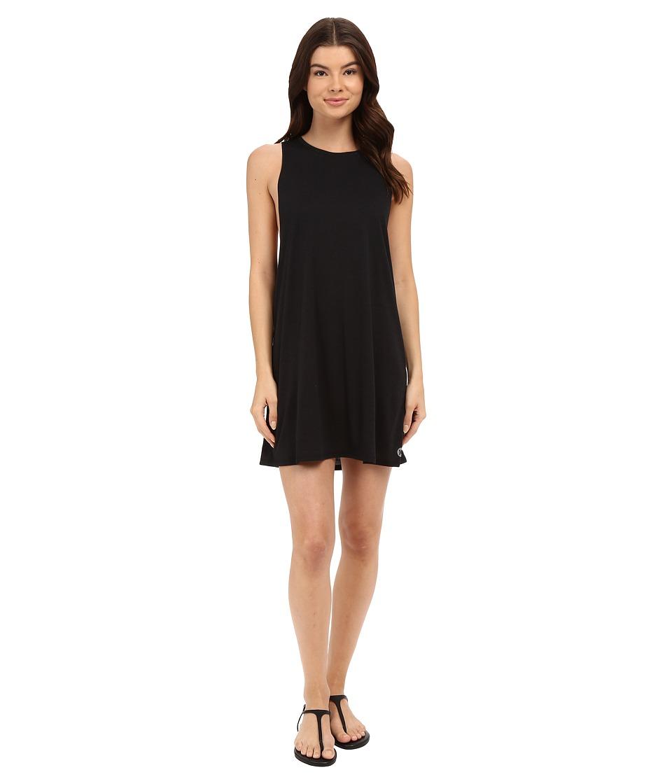 Hurley - Dri-FIT Biker Dress (Black) Women's Swimwear