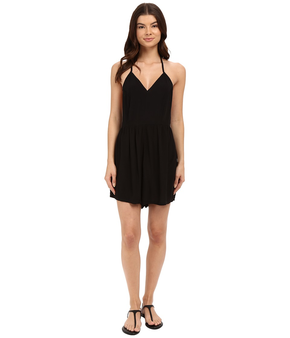 Hurley - Lexi Romper (Black) Women's Jumpsuit & Rompers One Piece