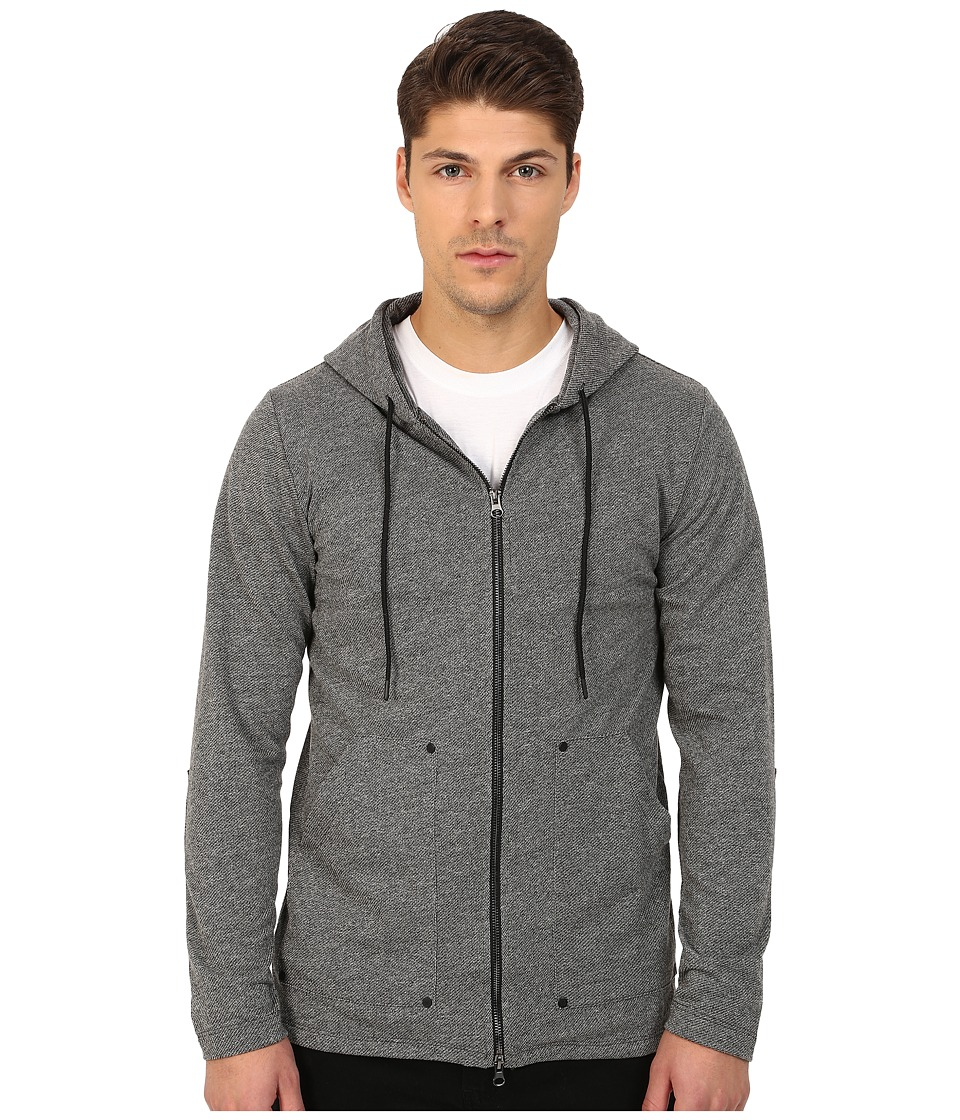 UNCL - Rivet Hoodie (Black) Men's Sweatshirt