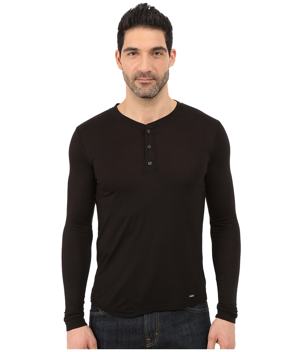 UNCL - House Henley 2.0 (Black) Men's T Shirt