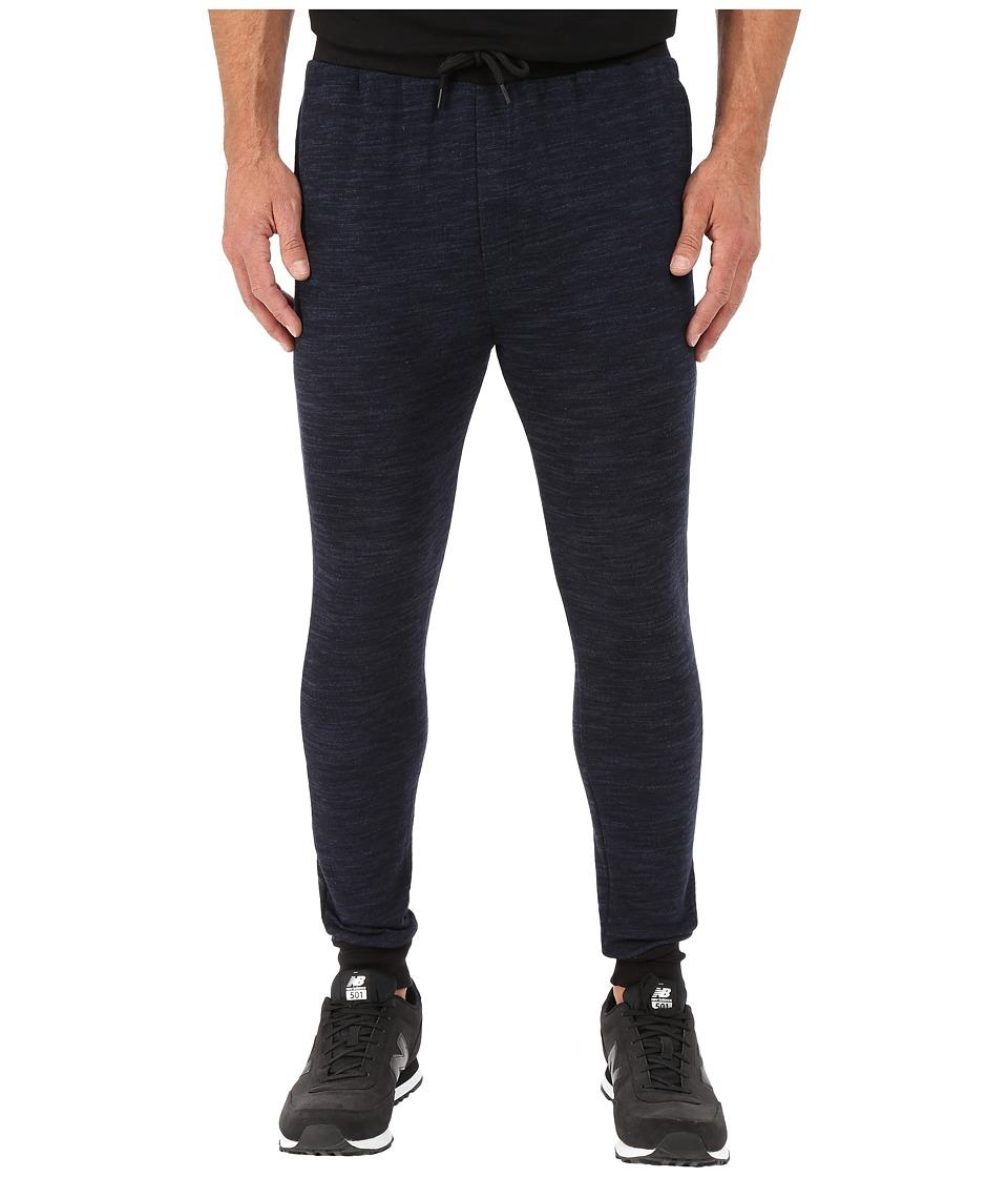 UNCL - Highline Slub Jogger Pants (Navy) Men's Workout