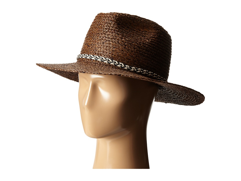 Brixton - Booker Fedora (Brown) Fedora Hats