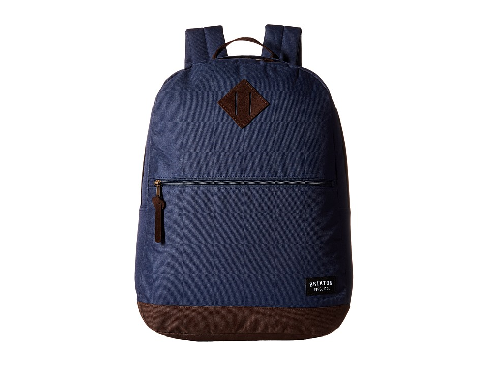Brixton - Carson Backpack (Slate Blue) Backpack Bags