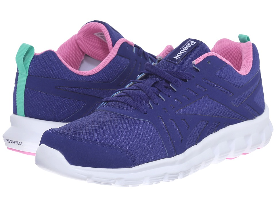 Reebok - Hexaffect Fire VTR MTM (Night Beacon/Icono Pink/Exotic Teal/White) Women's Shoes