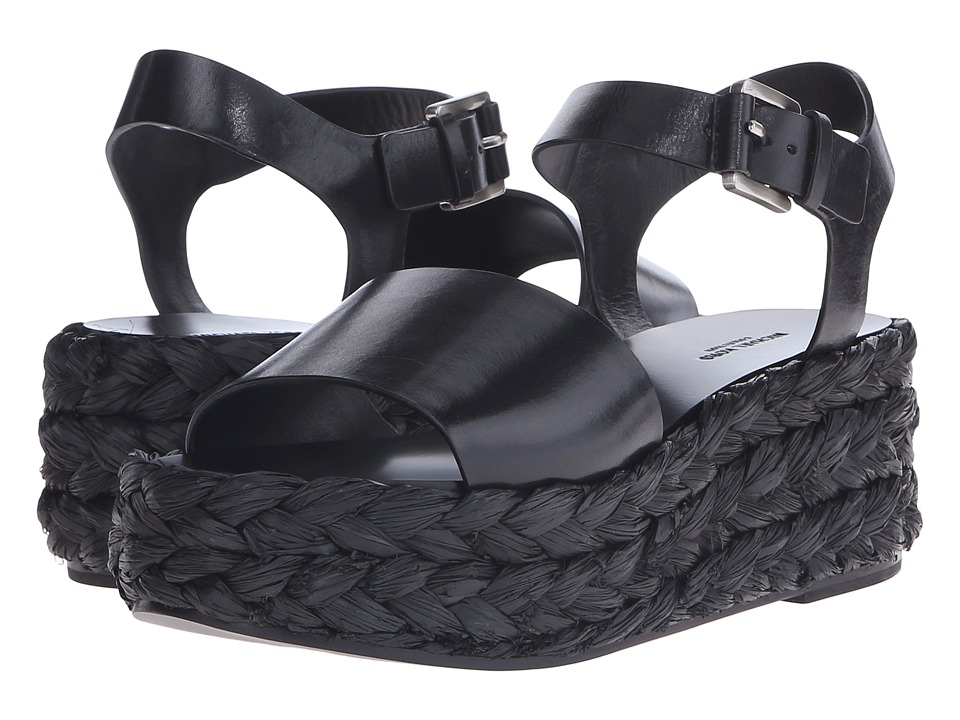 Michael Kors - Eldridge Runway (Black) Women's Sandals