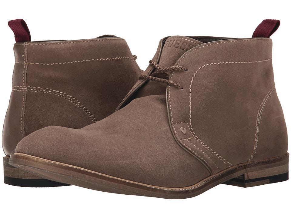 GUESS - Edmond (Brown) Men's Lace-up Boots