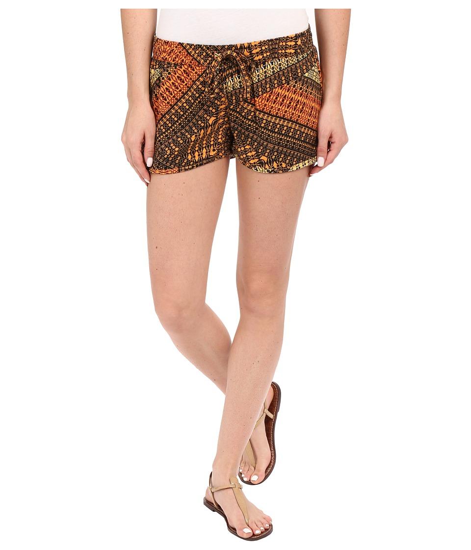 Hurley - Beachrider Woven Shorts (Bright Mango) Women's Shorts