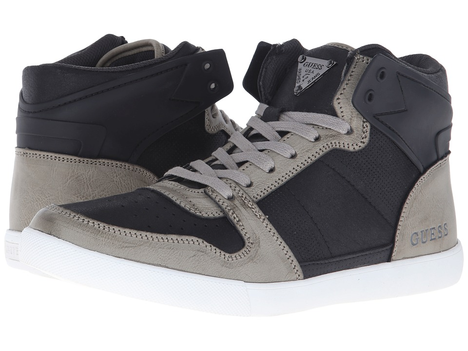 GUESS - Jaleel (Dark Gray) Men