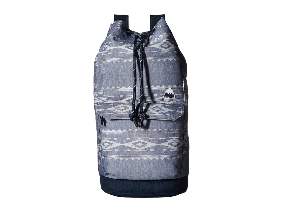 Burton - Frontier Backpack (Famish Stripe) Backpack Bags