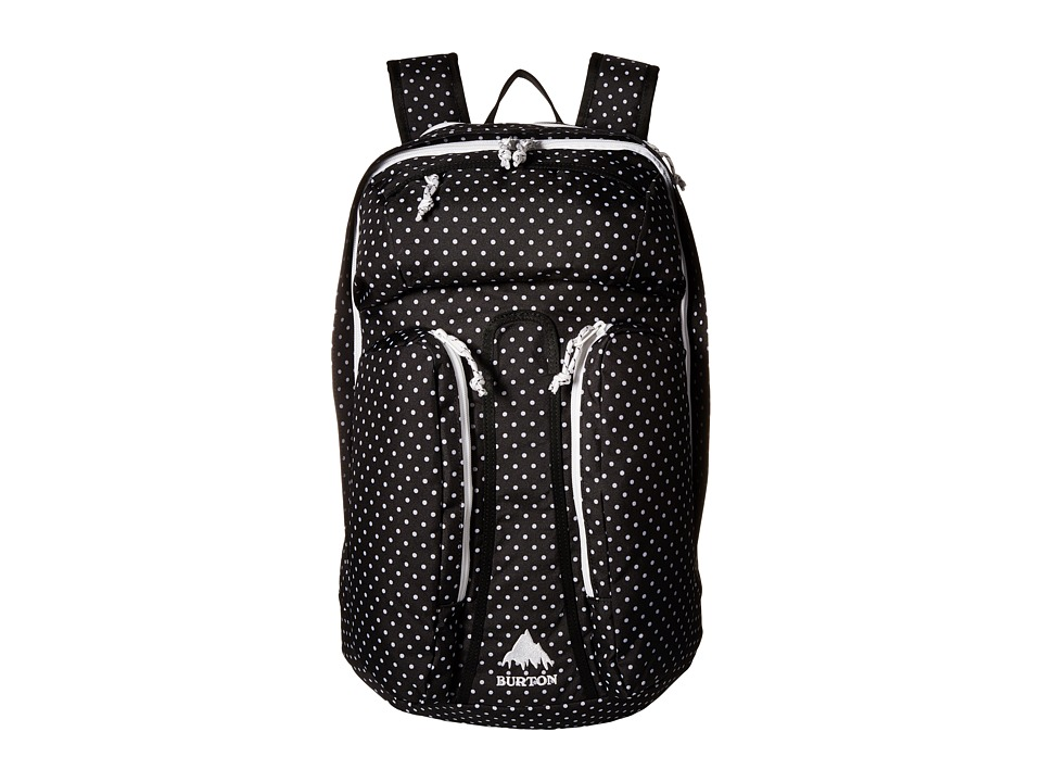 Burton - Curbshark Backpack (Black Polka Dot) Backpack Bags