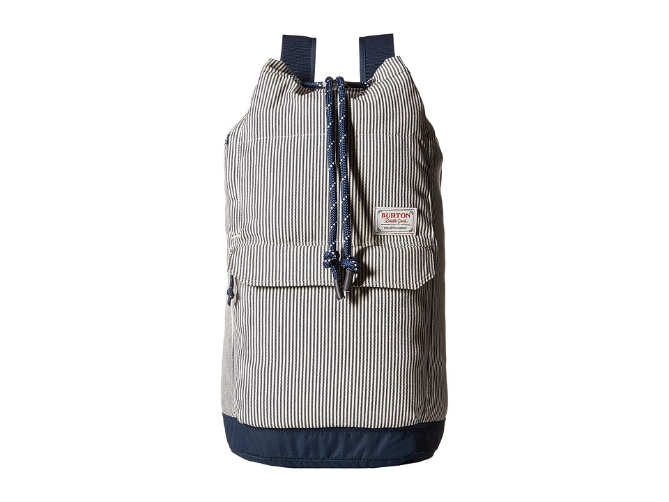 Burton - Frontier Backpack (Ticking Stripe) Backpack Bags