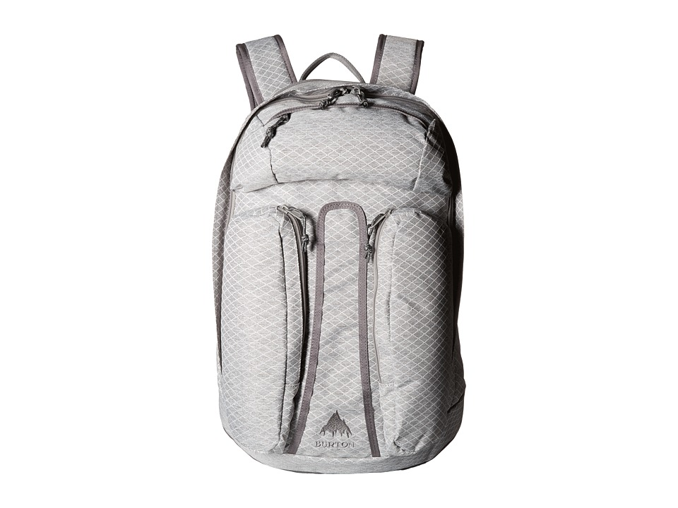Burton - Curbshark Pack (Grey Heather Diamond Ripstop) Day Pack Bags