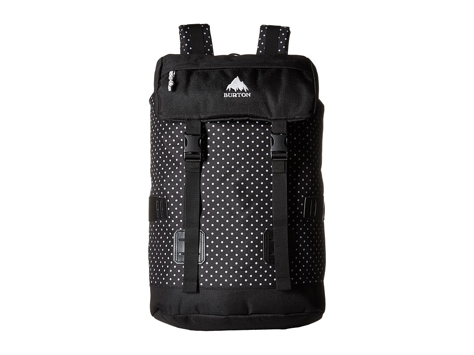 Burton - Tinder Pack (Black Polka Dot) Backpack Bags