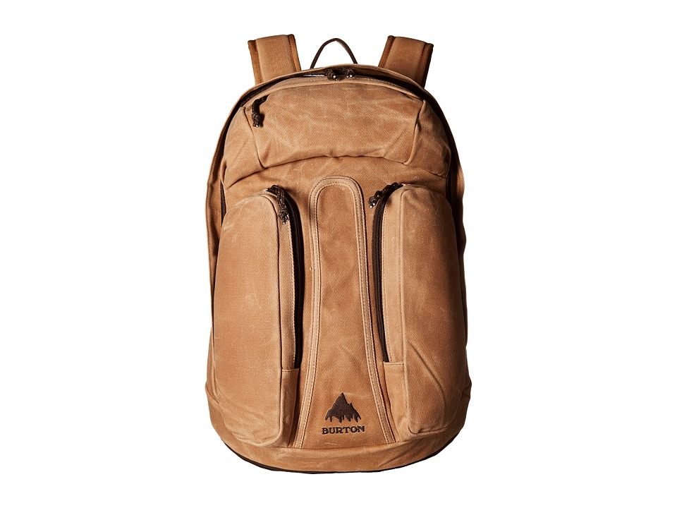 Burton - Curbshark Backpack (Beagle Brown Waxed Canvas) Backpack Bags