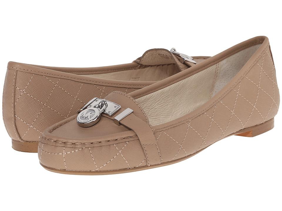 MICHAEL Michael Kors - Hamilton Moc (Dark Khaki Saffiano) Women's Slip on Shoes