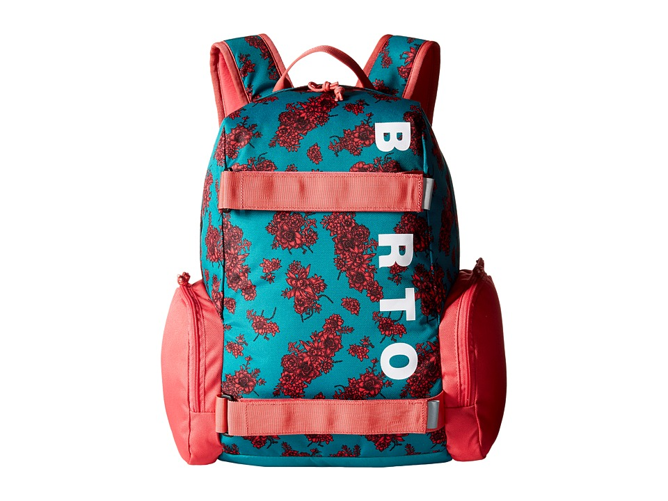 Burton - Emphasis (Little Kid/Big Kid) (Paradise Succulent) Day Pack Bags