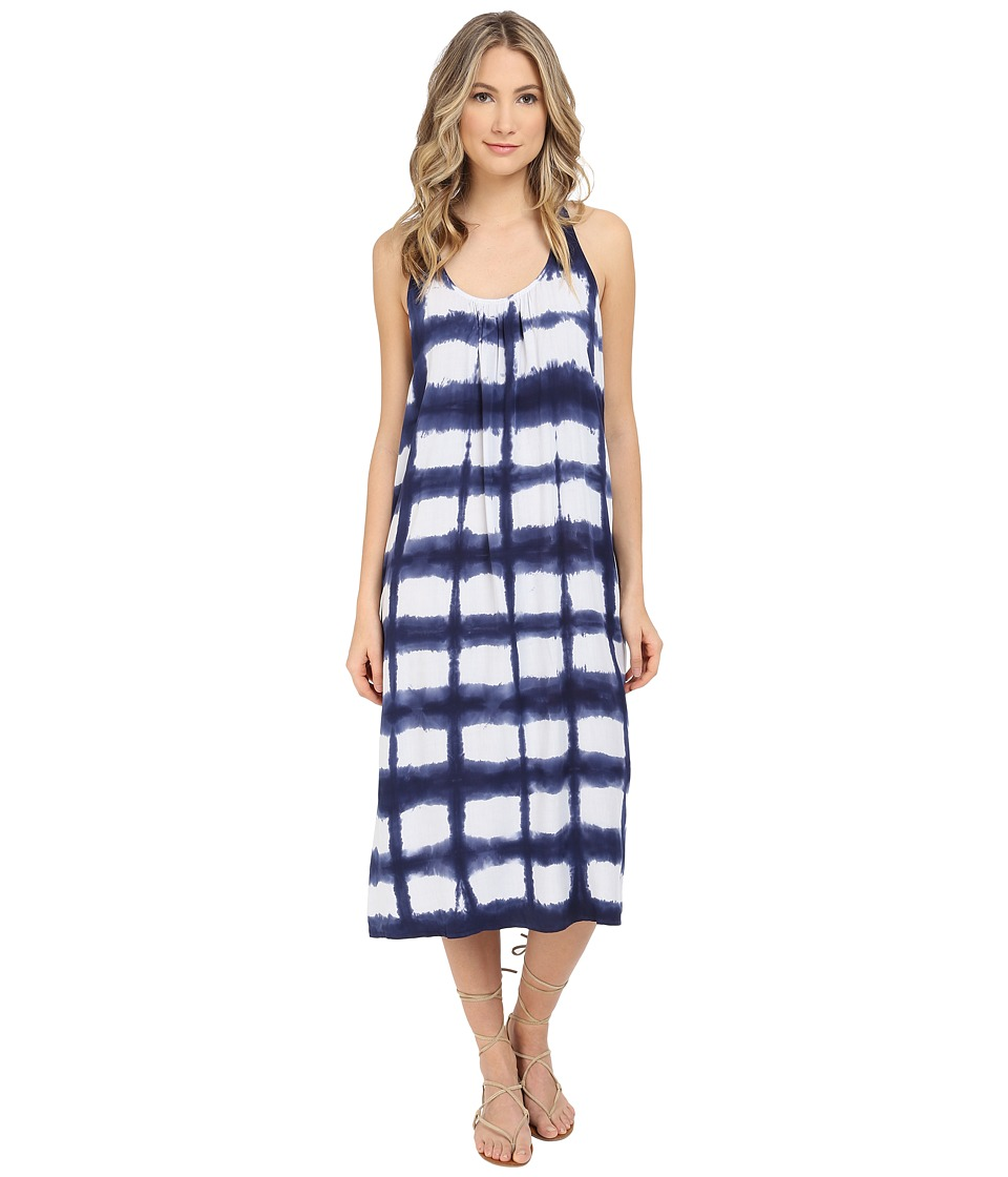 Splendid - Vista Voile Dress (Navy) Women's Dress