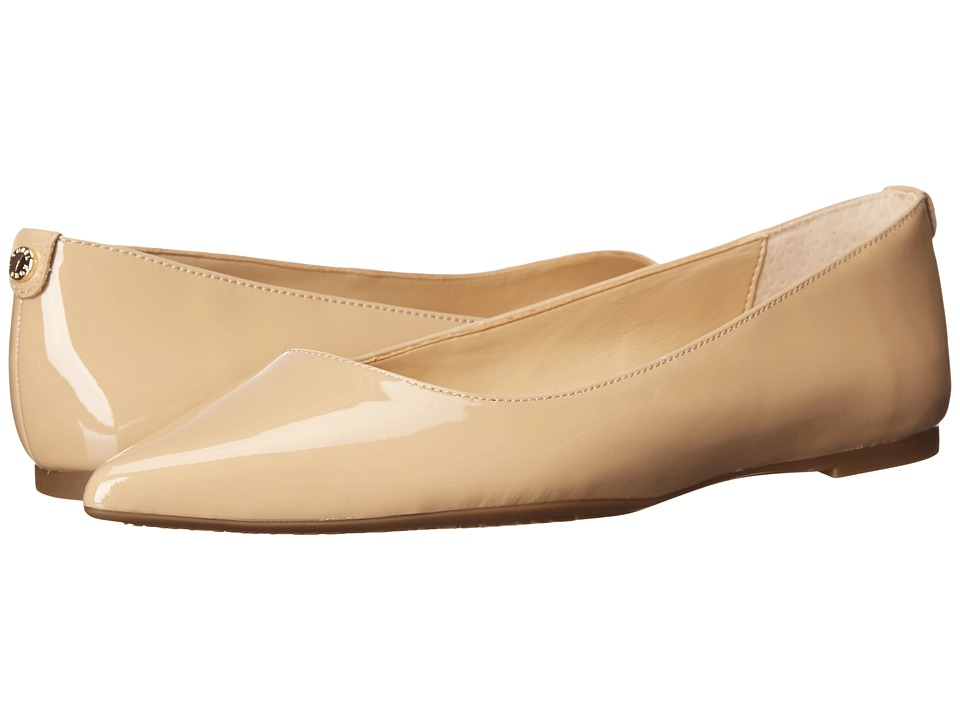 MICHAEL Michael Kors - Arianna Flat (Nude Patent) Women's Flat Shoes
