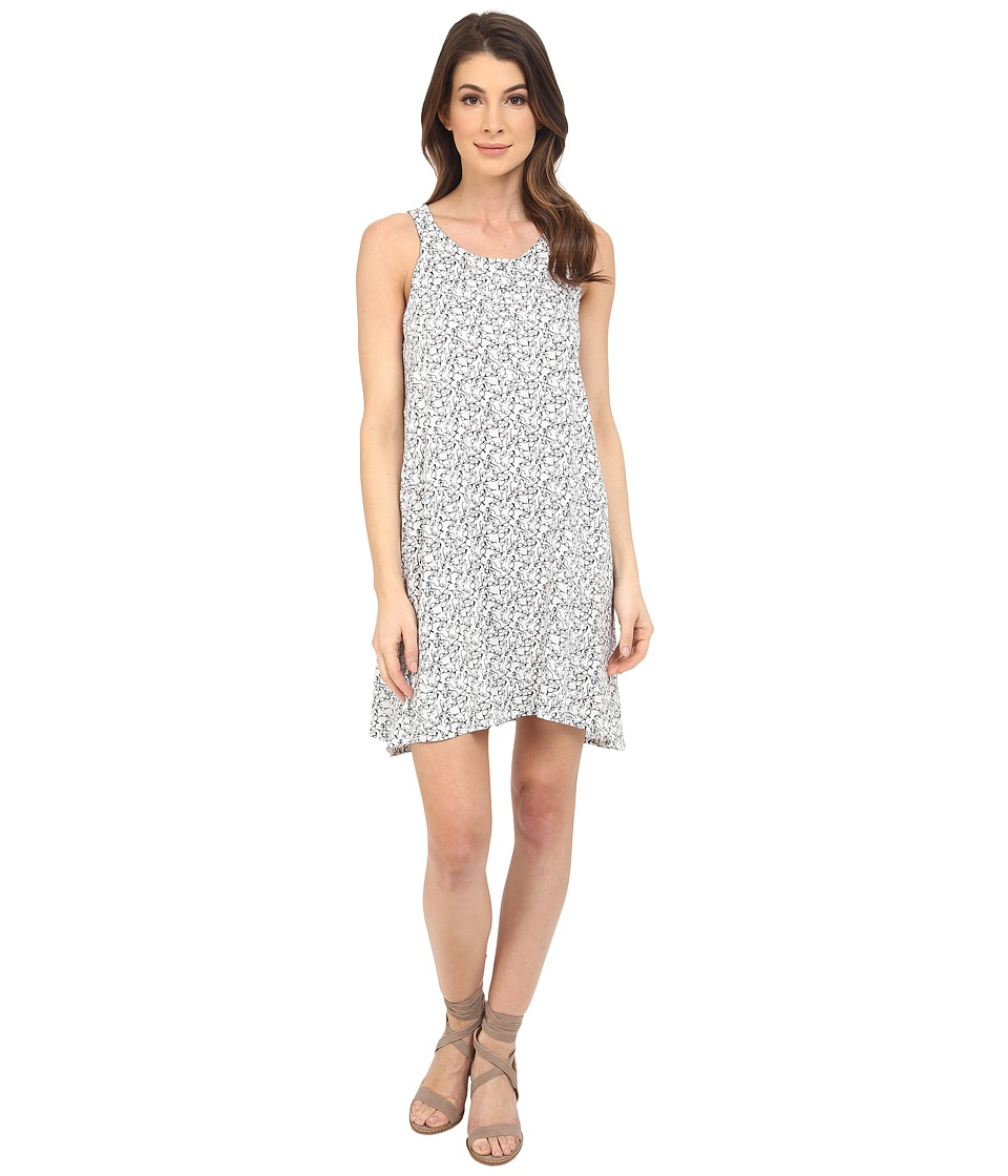 Splendid - Spectacles Print Dress (White/Black) Women's Dress