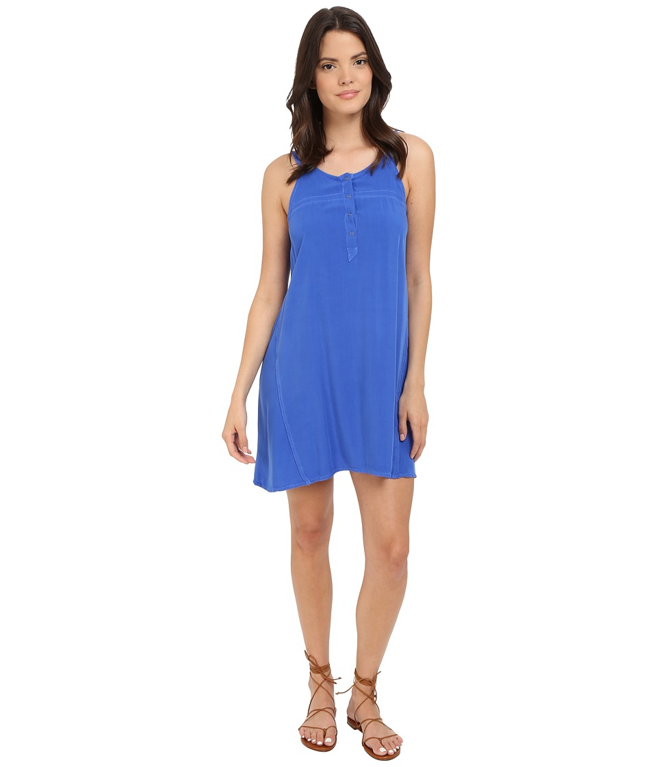 Splendid Rayon Voile Dress (Monaco Blue) Women