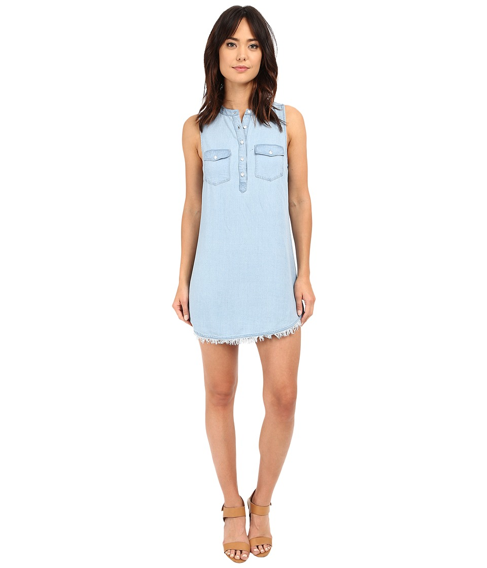 Splendid - Indigo Crosshatch Dress (Light Wash) Women's Dress