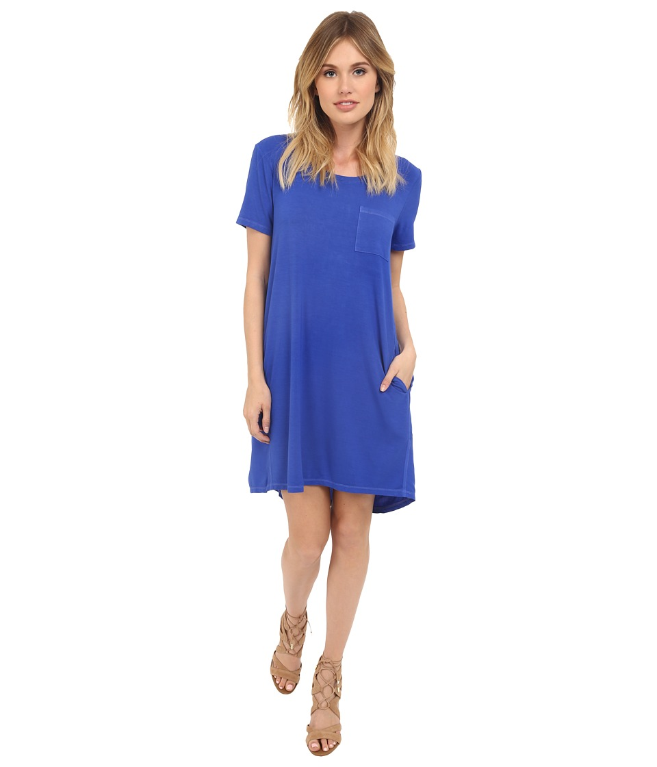 Splendid - Rayon Jersey Dress (Monaco Blue) Women's Dress