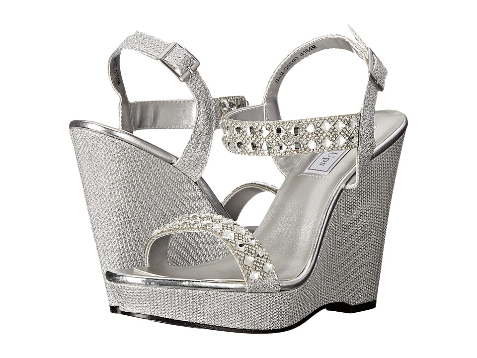 Touch Ups - Brynn (Silver Shimmer) Women's Shoes