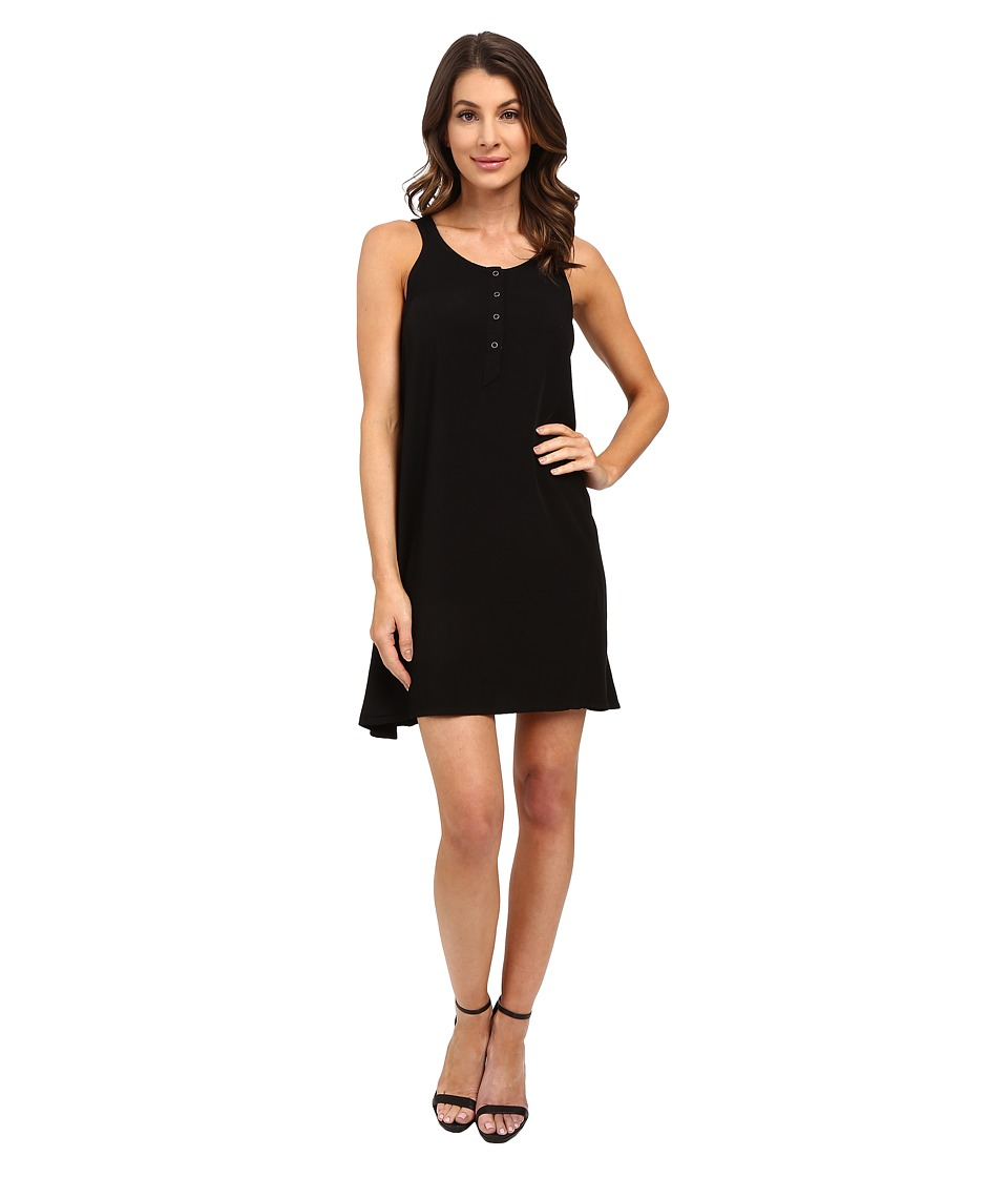 Splendid Rayon Voile Dress (Black) Women