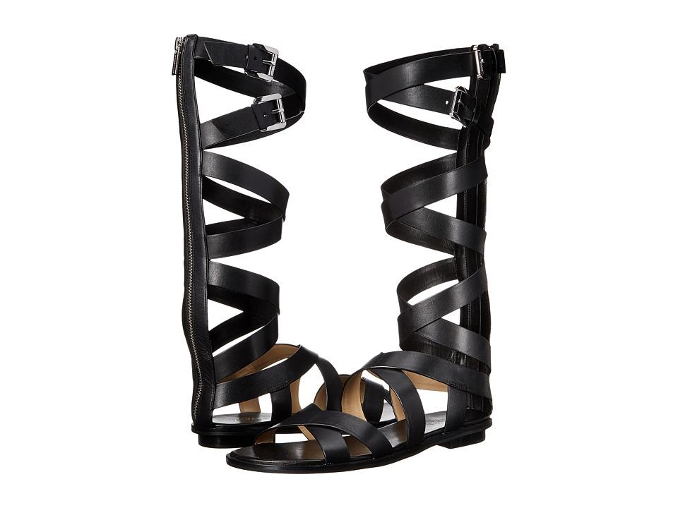MICHAEL Michael Kors - Darby Gladiator (Black Vachetta) Women's Sandals