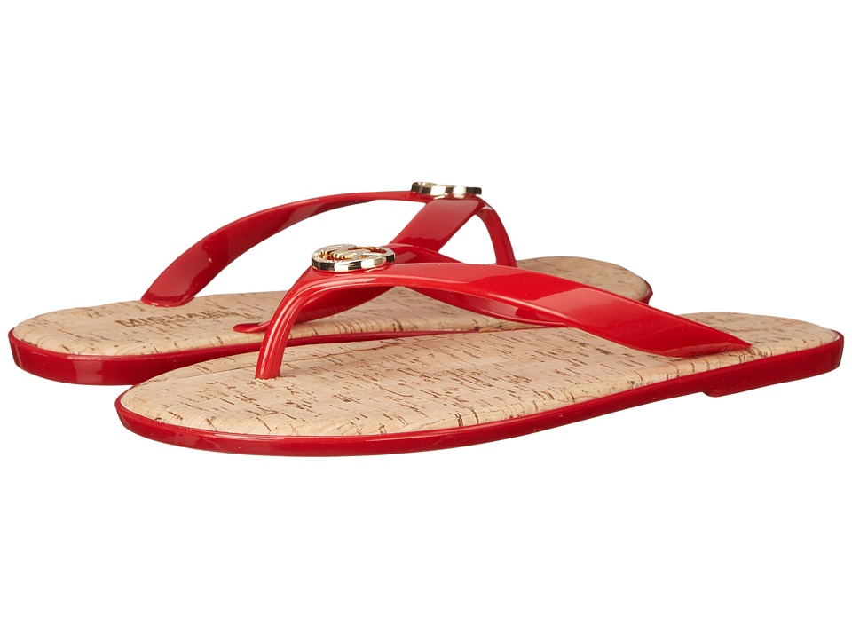 MICHAEL Michael Kors - Jet Set MK Jelly (Chili PVC) Women's Sandals
